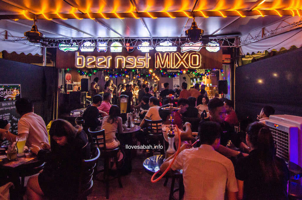 beer nest mixo , waterfront esplanade
