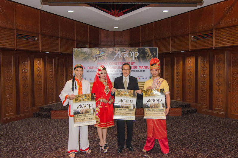 SABAH FEST 2015 PRESS CONFERENCE
