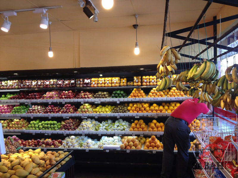 wide variety of fresh fruits